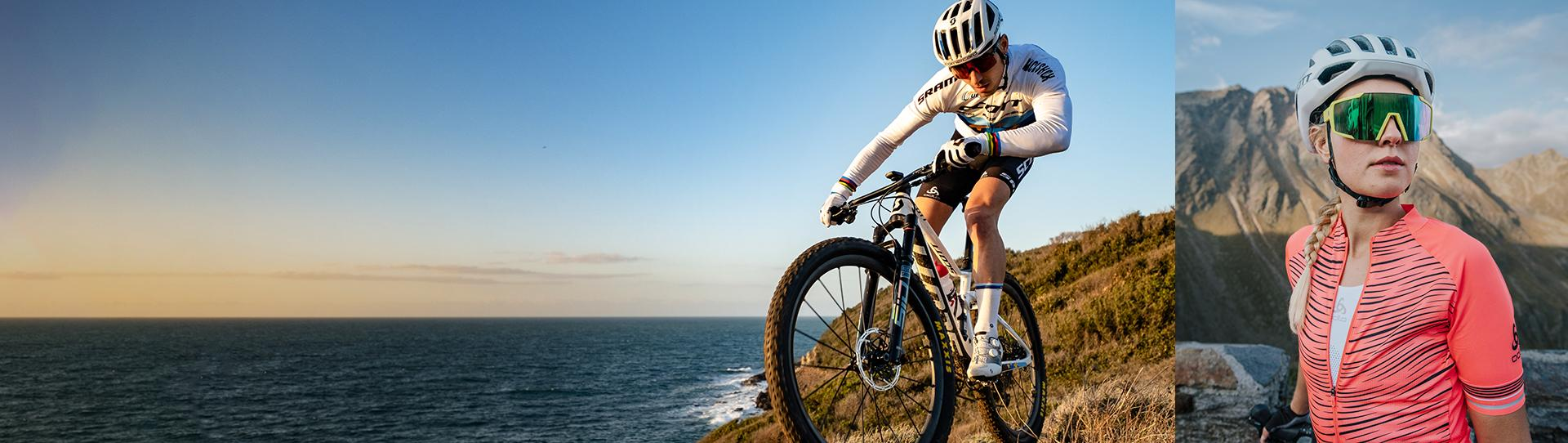 Pave your own way. Get the perfect cycling gear for every journey.