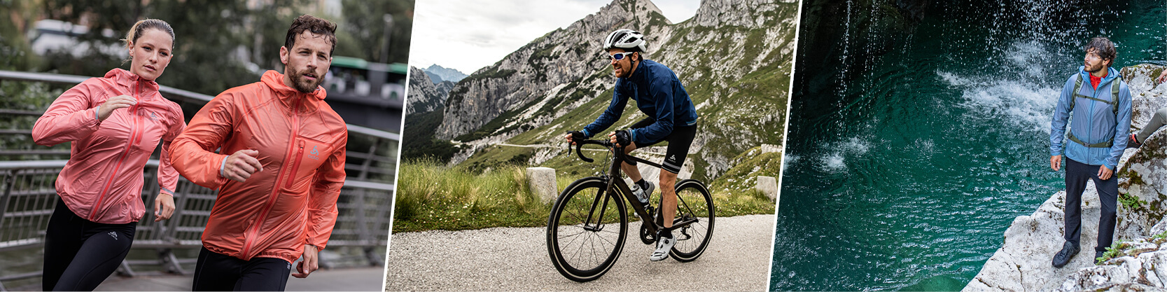 Men's jackets from ODLO: functionality that can meet the most challenging demands
