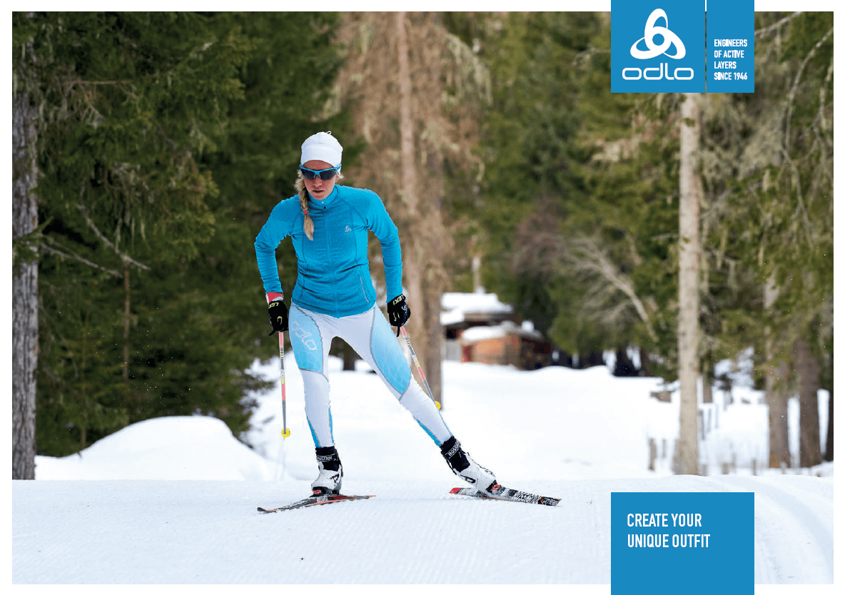 Customize your Odlo Cross Country Skiing Clothing!  d1e3ee2ab