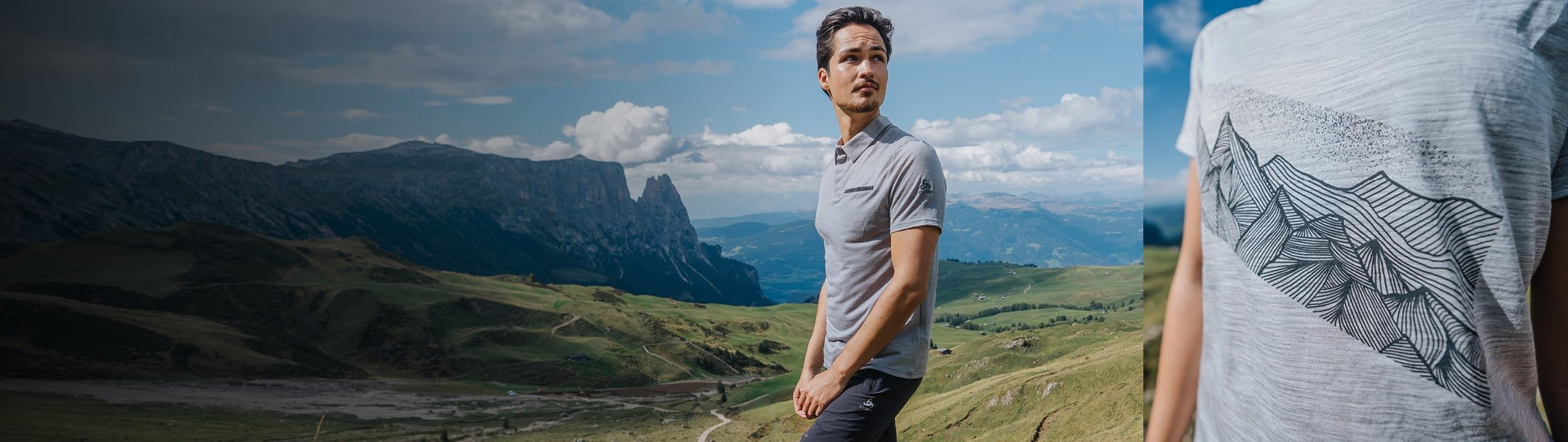 Merino and natural fibers for summer apparel