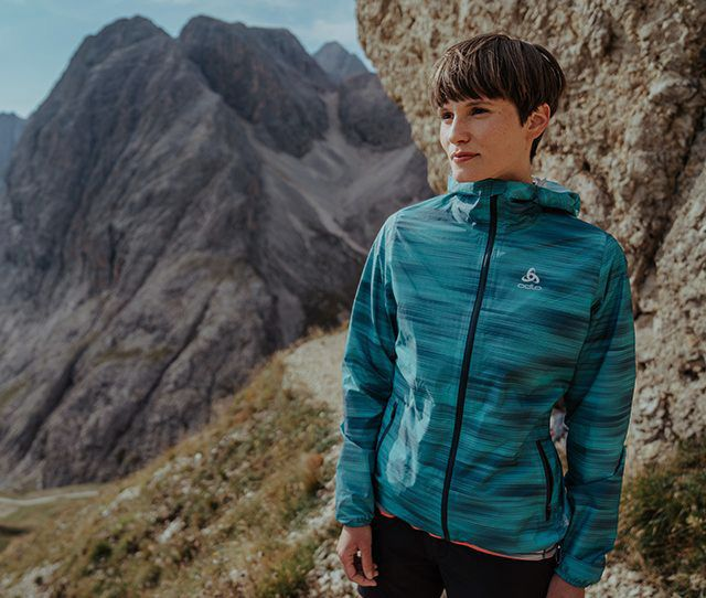 ODLO rain jackets collection 2021