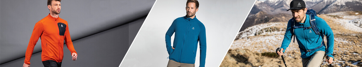 Odlo Men's Sweaters & Fleece Category