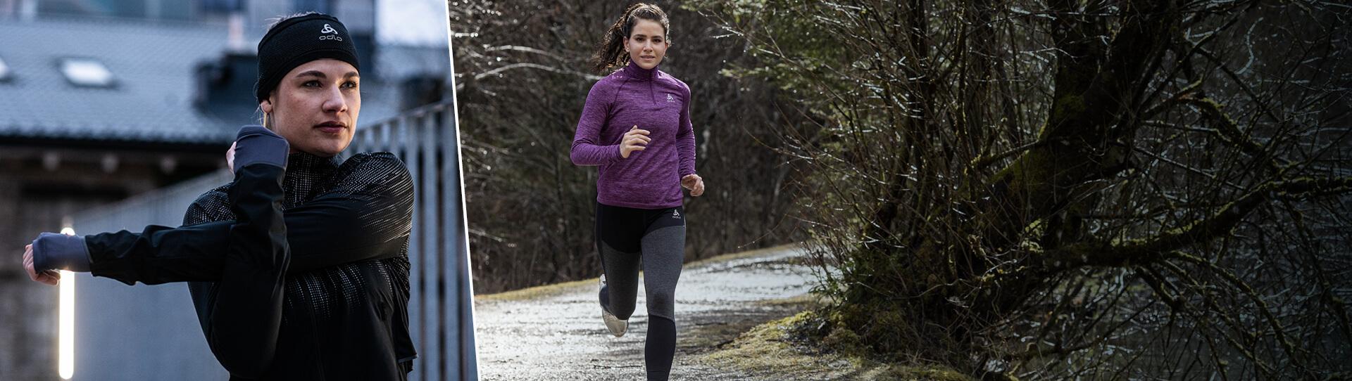 Women running collection Fall winter 2020