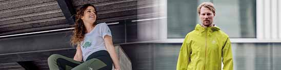 Snowshoeing with ODLO equipment